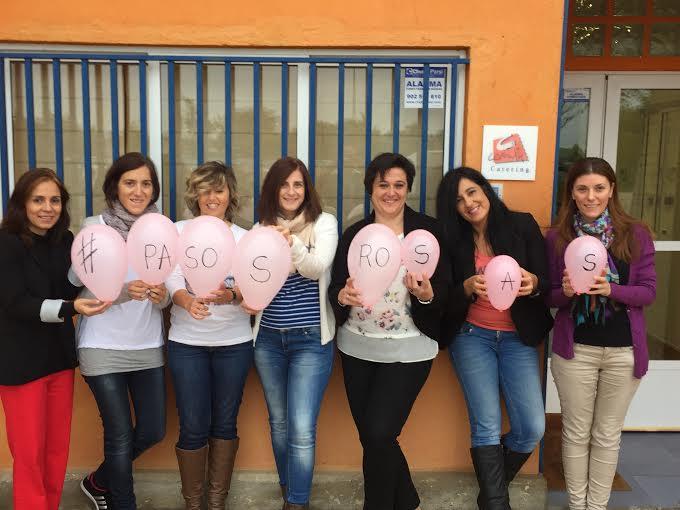 Combi Catering se suma al movimiento Pasos Rosas contra el cáncer de mama