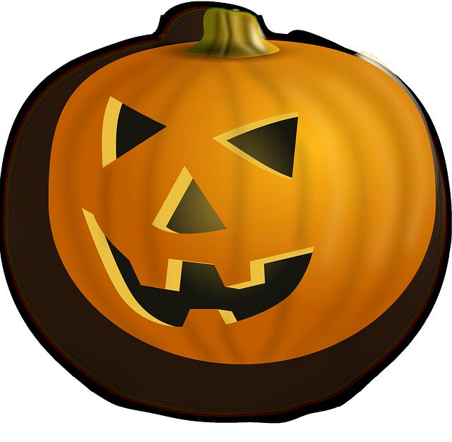 Calabaza ecológica para celebrar que se acerca Halloween