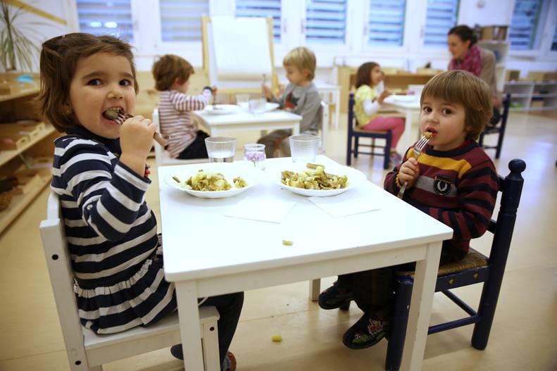 Seitán, algas y quinoa en el comedor del cole. Combi Catering aparece en El Heraldo con sus platos vegetarianos