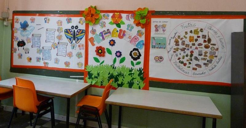 Actividades en comedores escolares