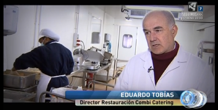 Eduardo Tobías, Director de Restauración de Combi Catering