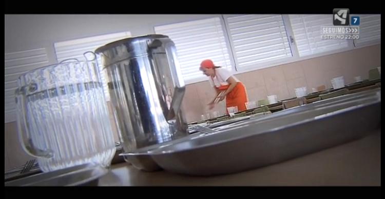 Comedores escolares cocina de línea fría