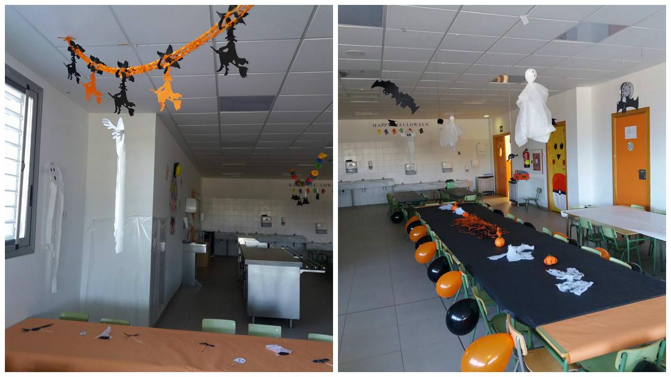 Decoración fiesta Halloween