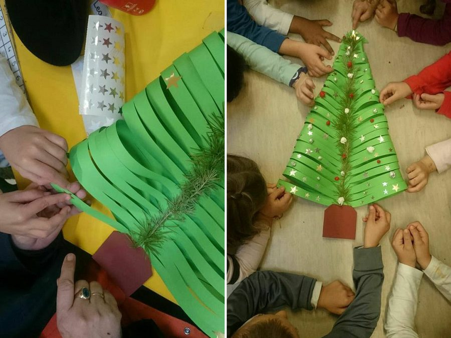 Actividades de Navidad en los comedores escolares de Combi