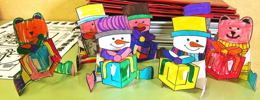 Manualidades Navidad Comedores Escolares