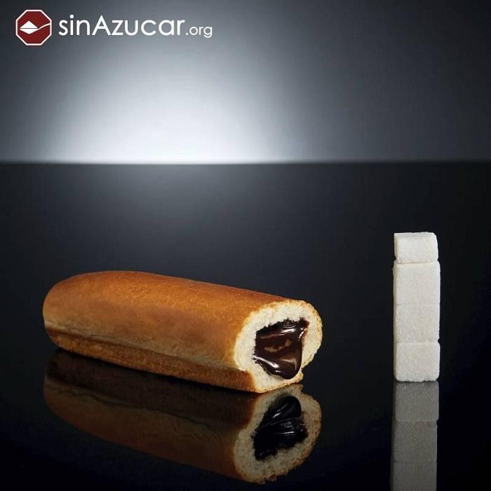 cuanta azúcar llevan los alimentos industriales que consumes