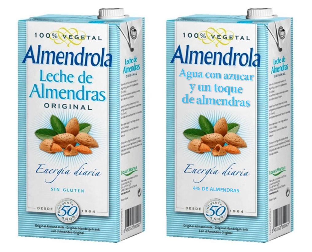Etiquetas de alimentos procesados