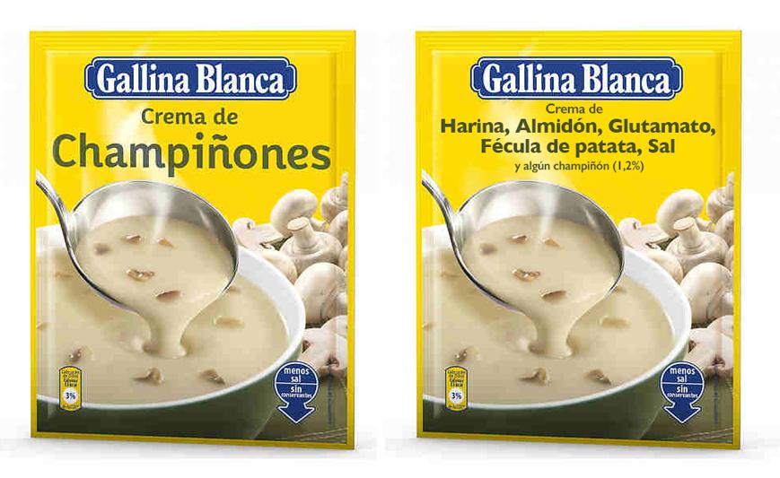Etiquetas de alimentos procesados ¿Los envases reflejan siempre los ingredientes de forma clara?