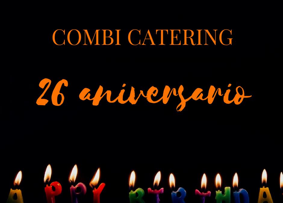 Combi Catering cumple 26 años de compromiso con la calidad