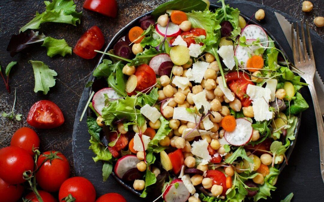 Las legumbres, también en verano