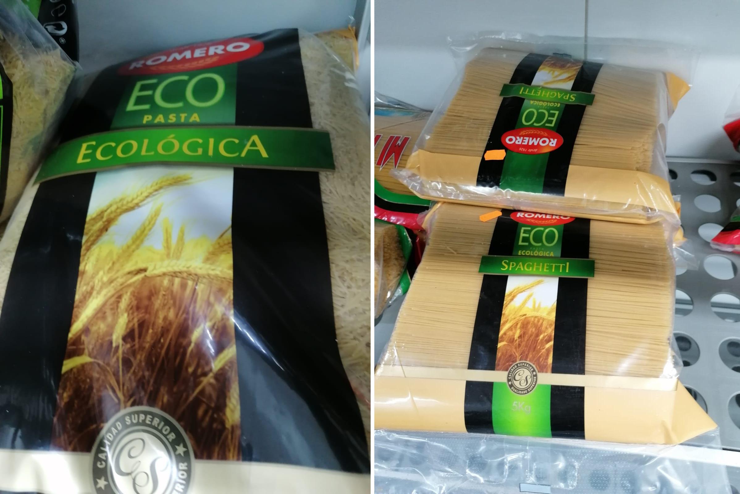 Pasta ecológica