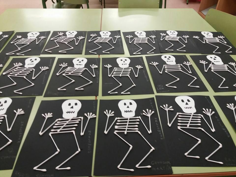 Actividades escolares para Halloween