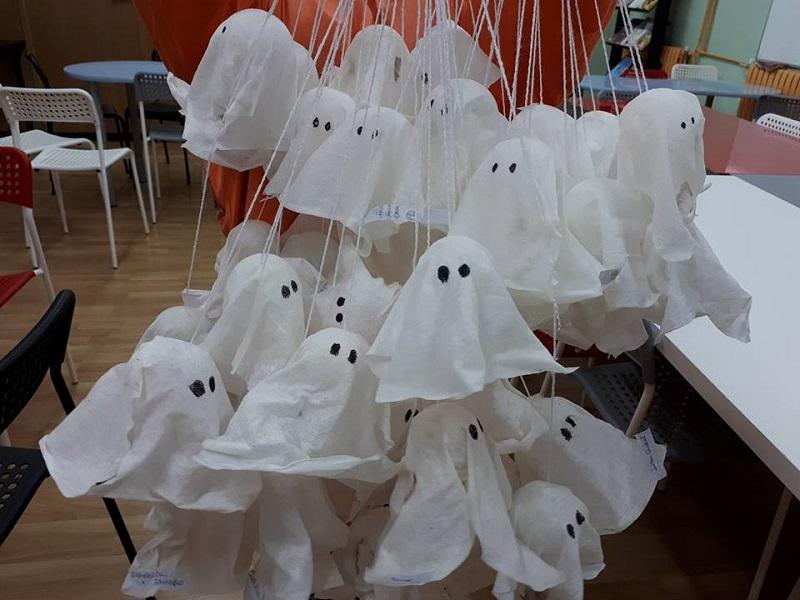 Actividades manuales Halloween