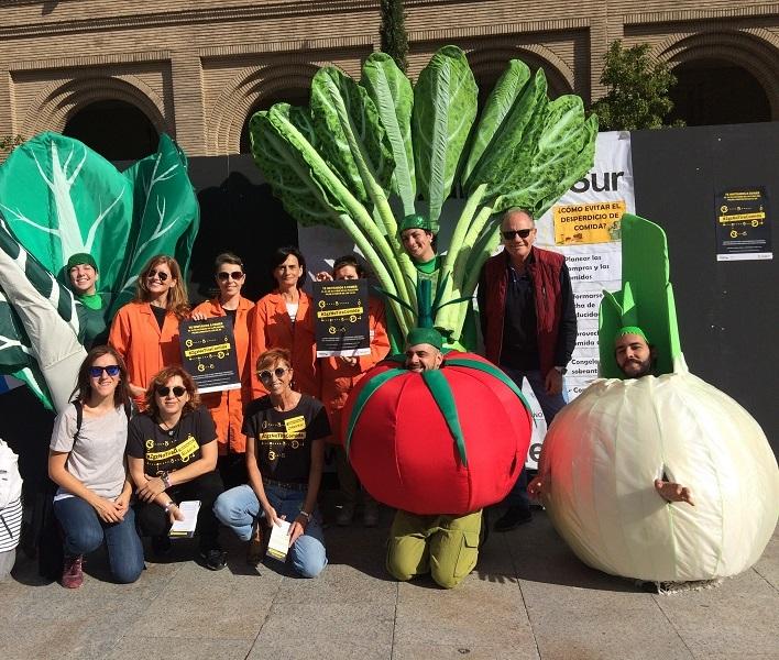 Contra el despilfarro alimentario: Combi Catering participa en el evento #Zgznotiracomida
