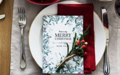 Aperitivos y entrantes saludables para Navidad