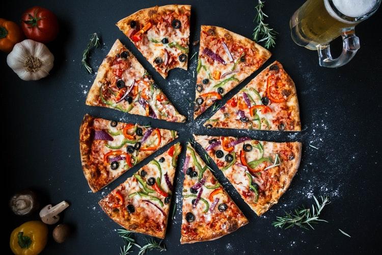 La pizza también puede ser sana, si es casera