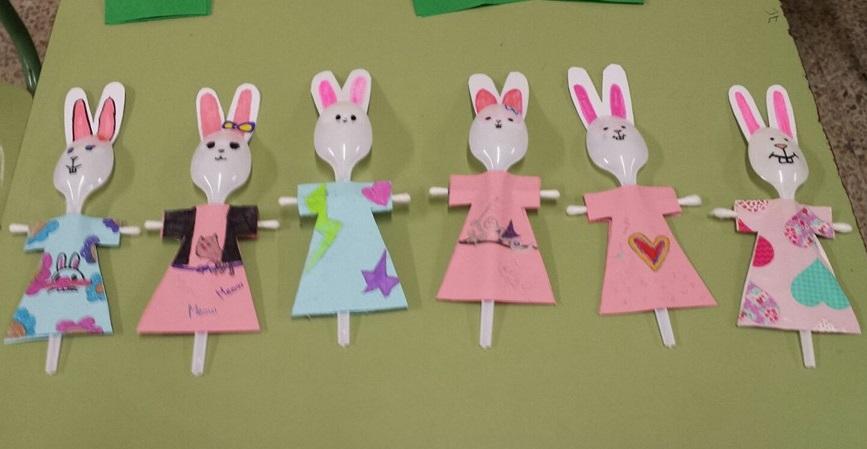 Manualidades niños Pascua