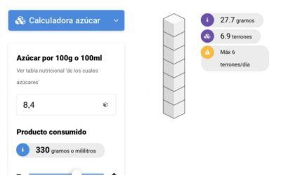 Sin Azucar.org estrena una app para saber cuanta azúcar consumes