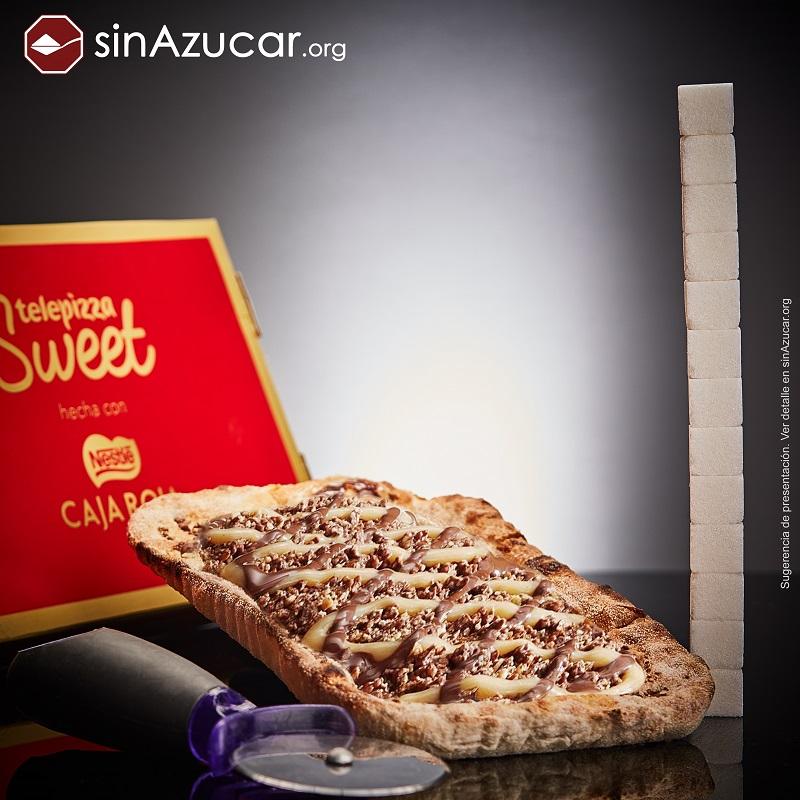 Exceso de azúcar en comida