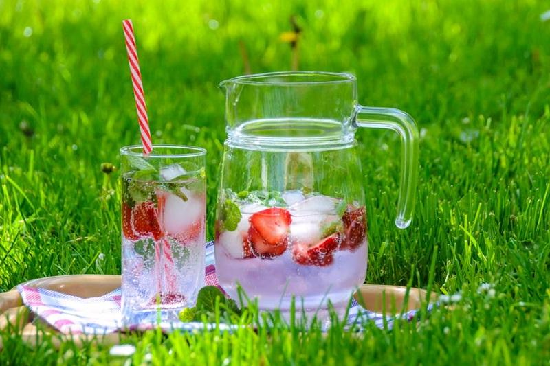 Agua con sabores. La tendencia estrella del verano