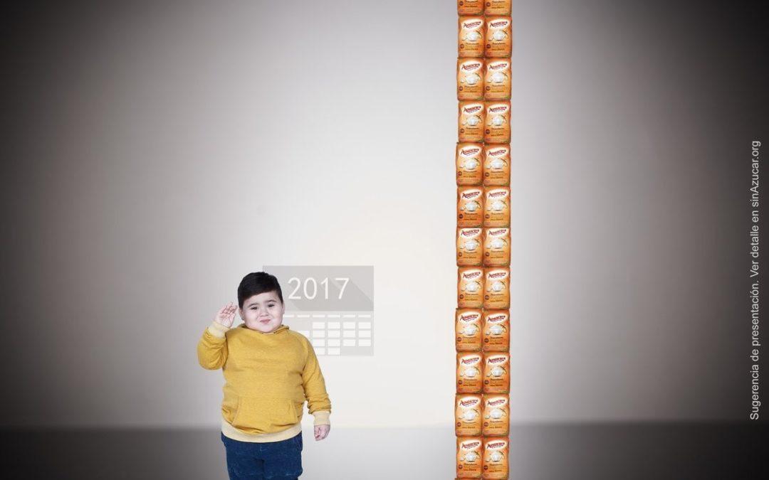 Cada niño español consume 32 kilos de azúcar al año