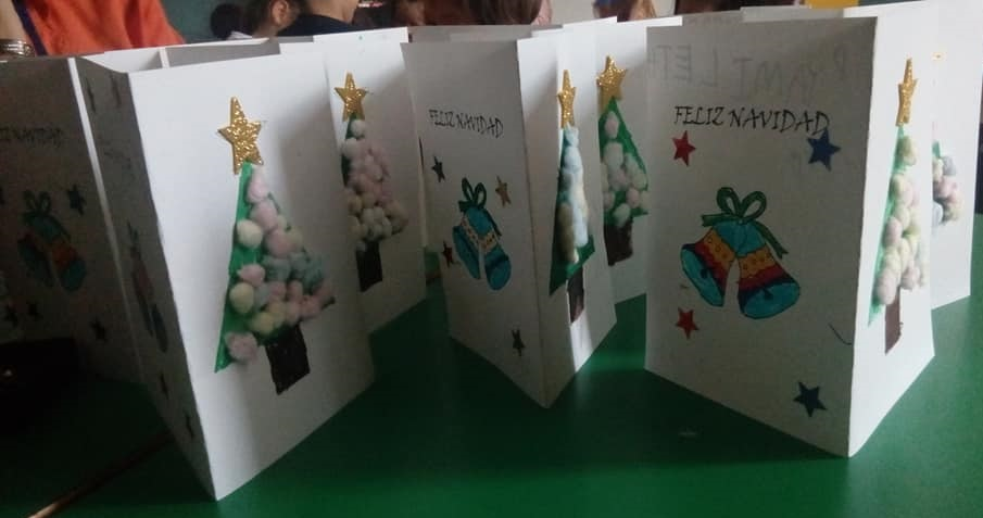 Postales de Navidad handmade