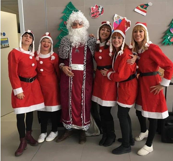 Navidad comedores escolares