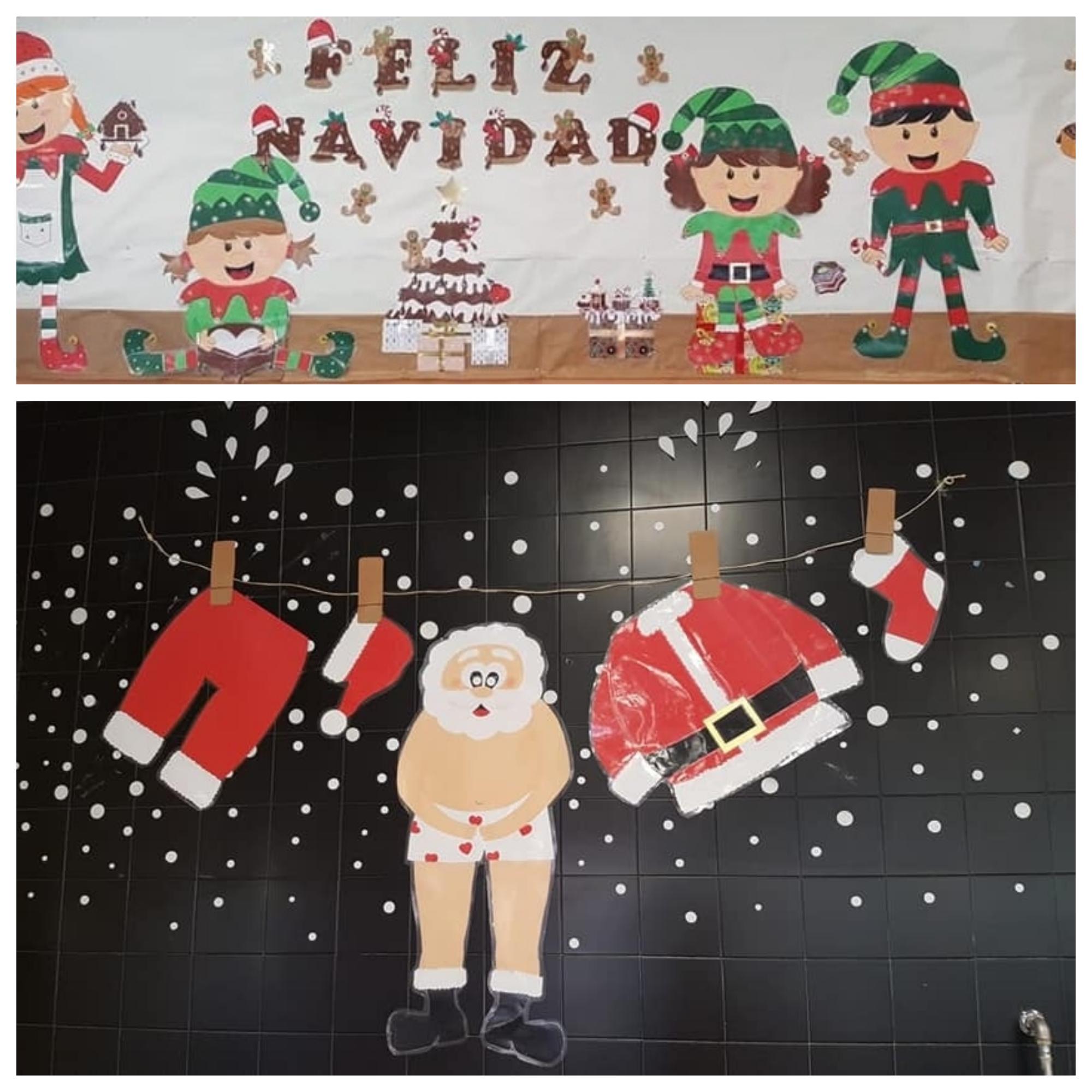 Manualidades Navidad con niños