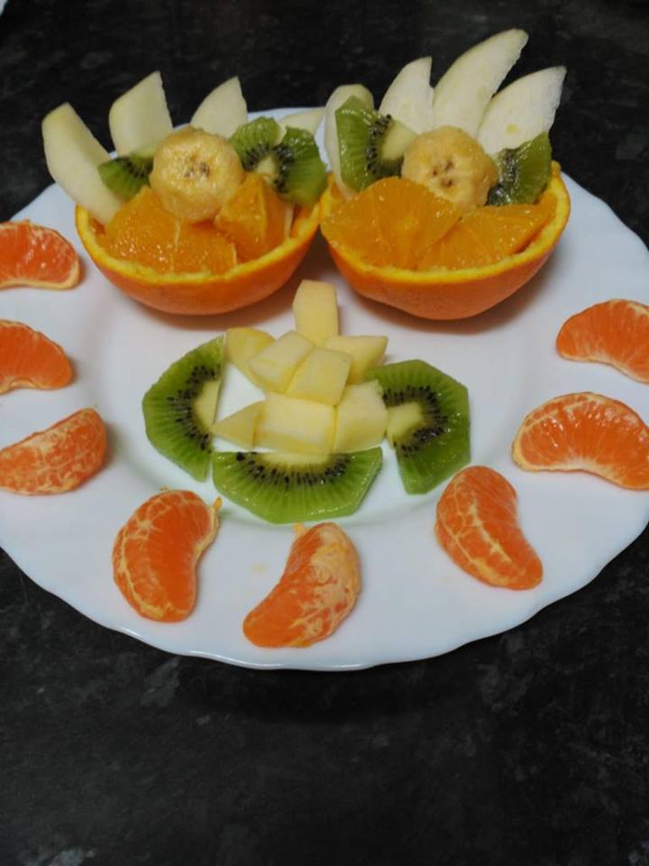 Ideas para comer fruta de forma divertida