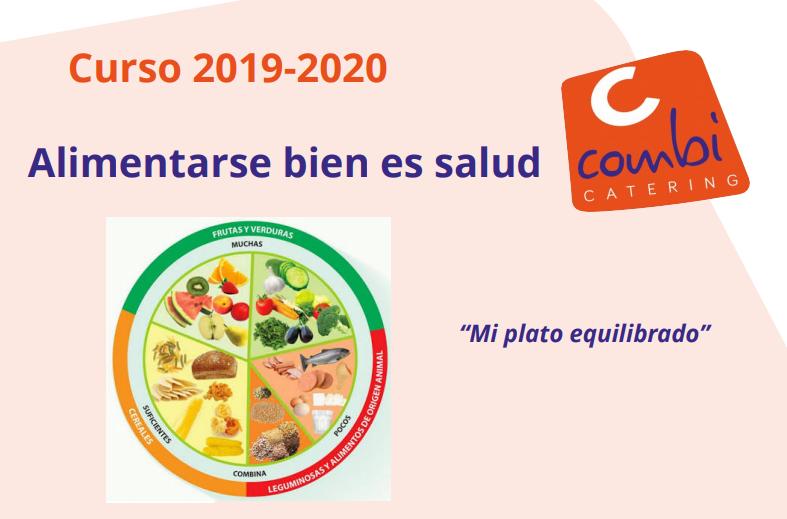"""Combi Catering se suma a """"Mi plato equilibrado"""", iniciativa de la Fundación Alimentación Saludable y de la Sociedad Española de Dietética y Ciencias de la Alimentación"""