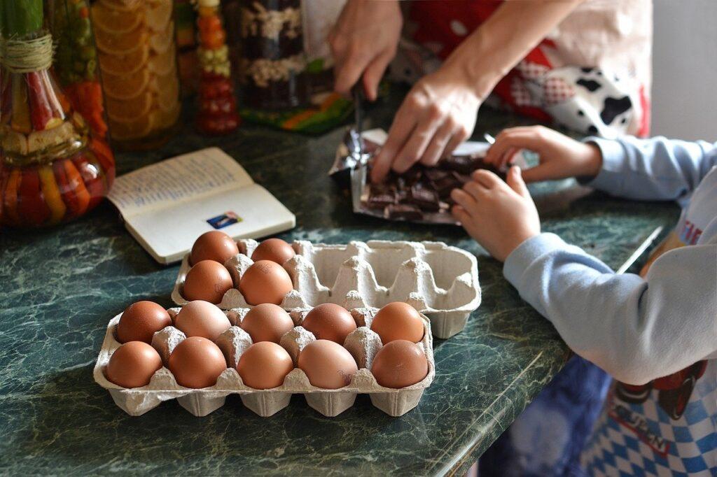 Consejos para cocinar con niños