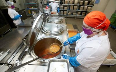 Menús saludables en Cantabria para estudiantes en situación de vulnerabilidad