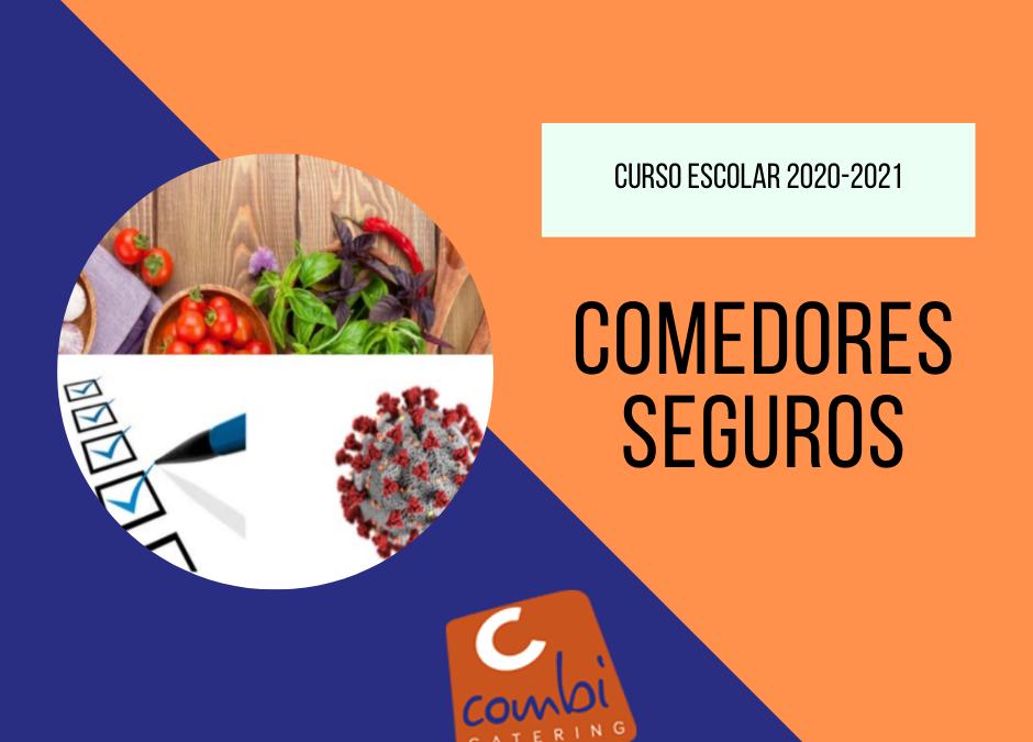 Arrancamos el curso escolar 2020-2021. Y lo tenemos todo listo para crear comedores seguros frente a la COVID-19