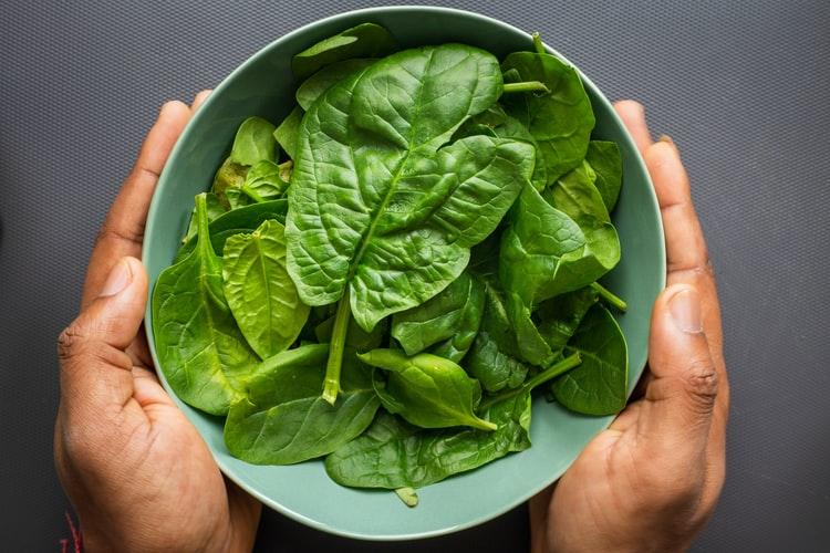 Alimentos de temporada: la espinaca