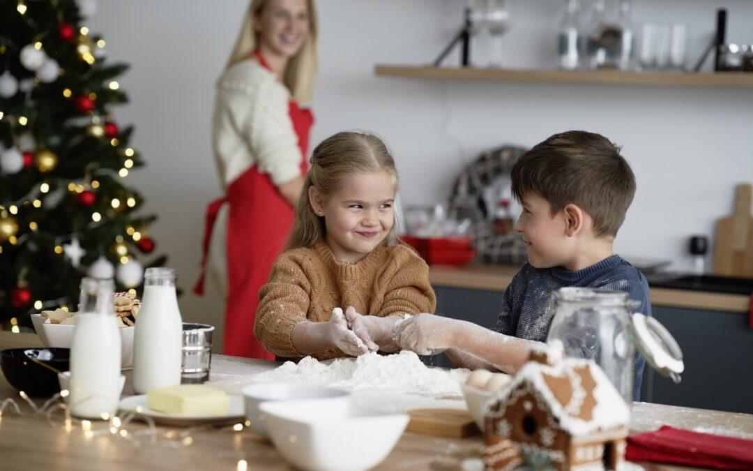 En Navidad, cuida (todavía más) la alimentación de los niños