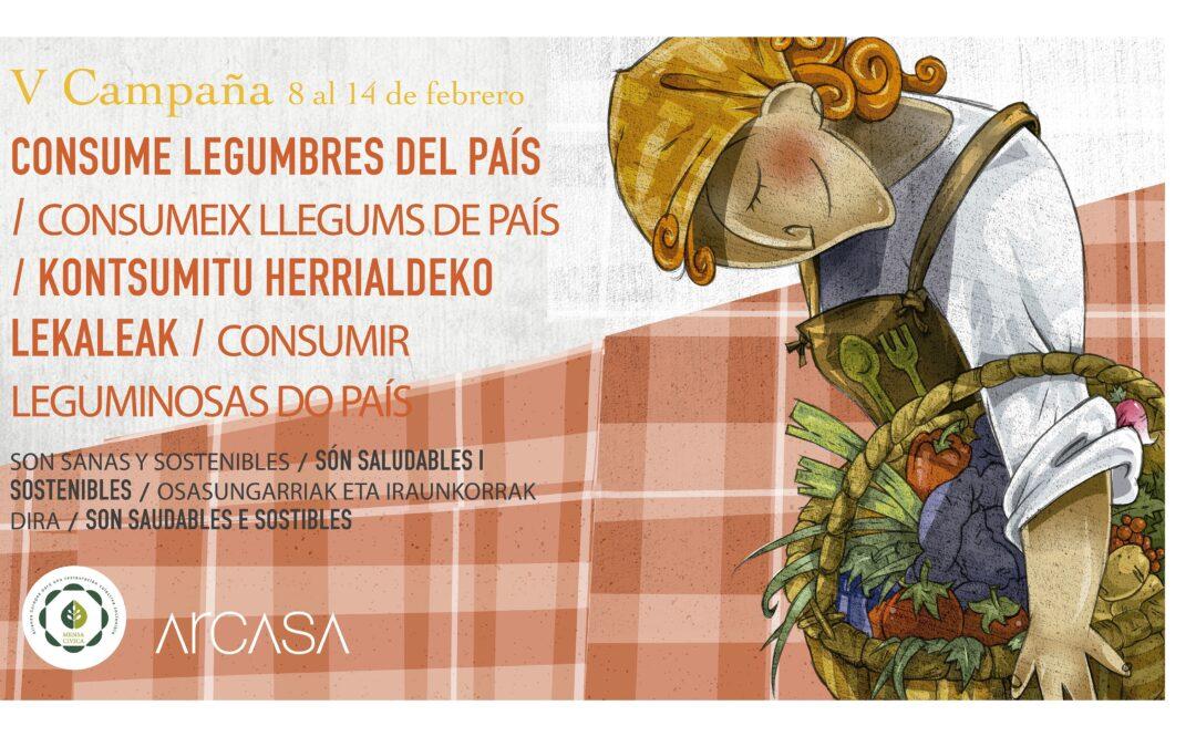 COMBI CATERING – ARCASA participa en la Campaña 'Consume legumbres del país'