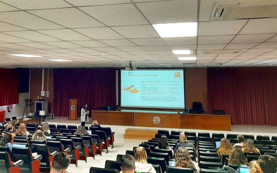 Conferencia de COMBI CATERING en la Universidad de Zaragoza