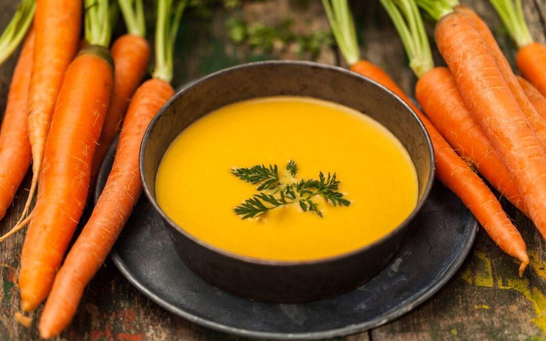 Receta saludable: crema de zanahoria