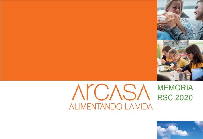 Arcasa publica su memoria no financiera 2020