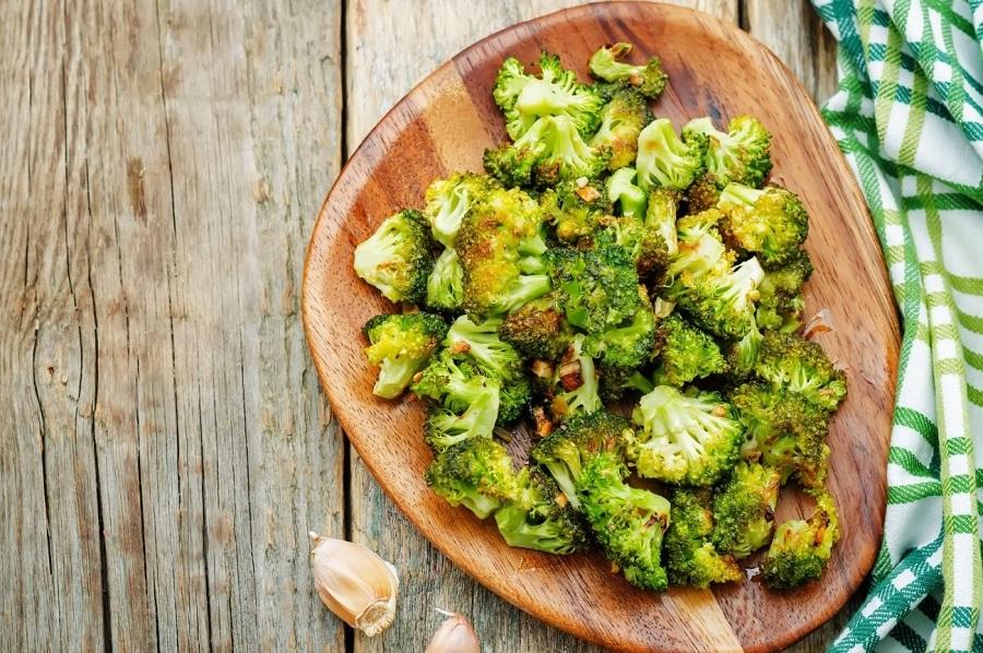 Receta saludable: brócoli al horno